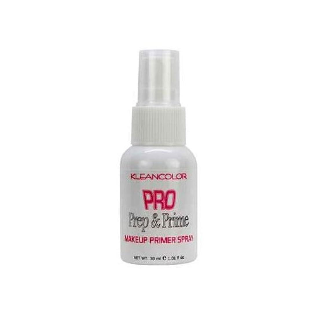 逸脱汚染された任意(3 Pack) KLEANCOLOR Pro Prep and Prime - Makeup Primer Spray (並行輸入品)