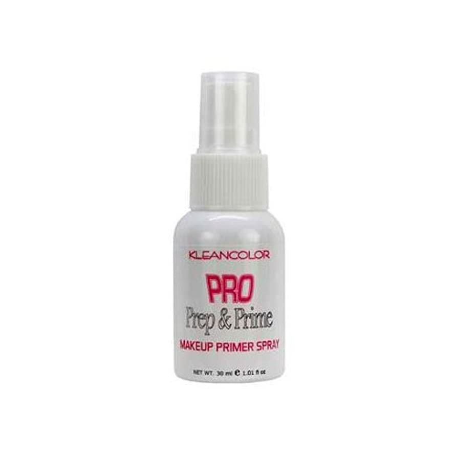 請求書有名人学生(3 Pack) KLEANCOLOR Pro Prep and Prime - Makeup Primer Spray (並行輸入品)
