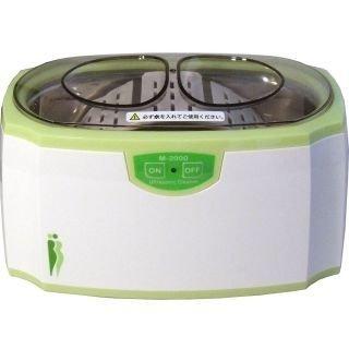 メガネ、時計の金属バンド、入れ歯、、貴金属などの洗浄に!家庭用 超音波洗浄器 M-2000【5個セット】