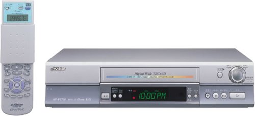 JVCケンウッド ビクター BS内蔵 S-VHSビデオ HR-VT700