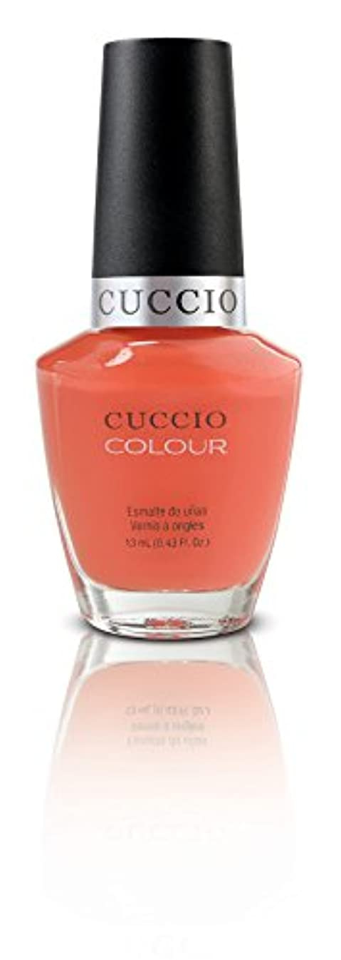すずめ征服弾性Cuccio Colour Gloss Lacquer - California Dreamin' - 0.43oz / 13ml