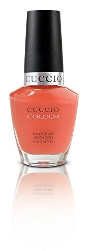 ウェイター銛トマトCuccio Colour Gloss Lacquer - California Dreamin' - 0.43oz / 13ml