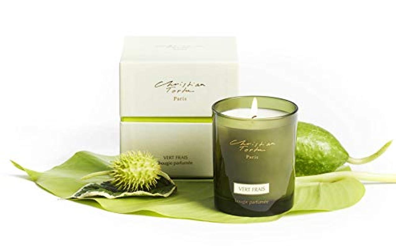 に対処する液体スリムChristian Tortu Vert Frais (フレッシュグリーン) Candle