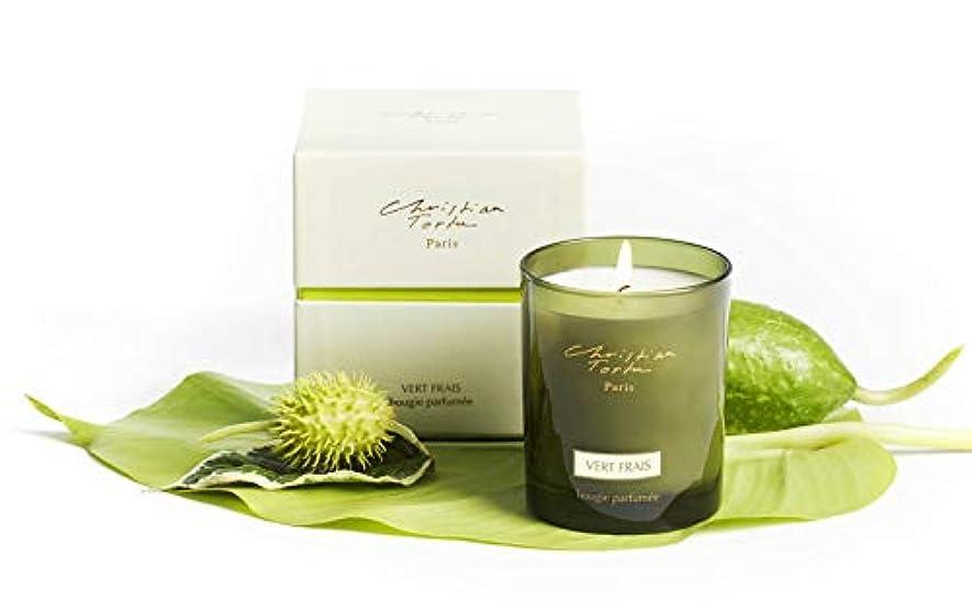雹定期的に退屈なChristian Tortu Vert Frais (フレッシュグリーン) Candle
