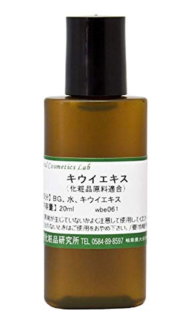 一方、蒸留がんばり続けるキウイエキス 20ml 【手作り化粧品原料】