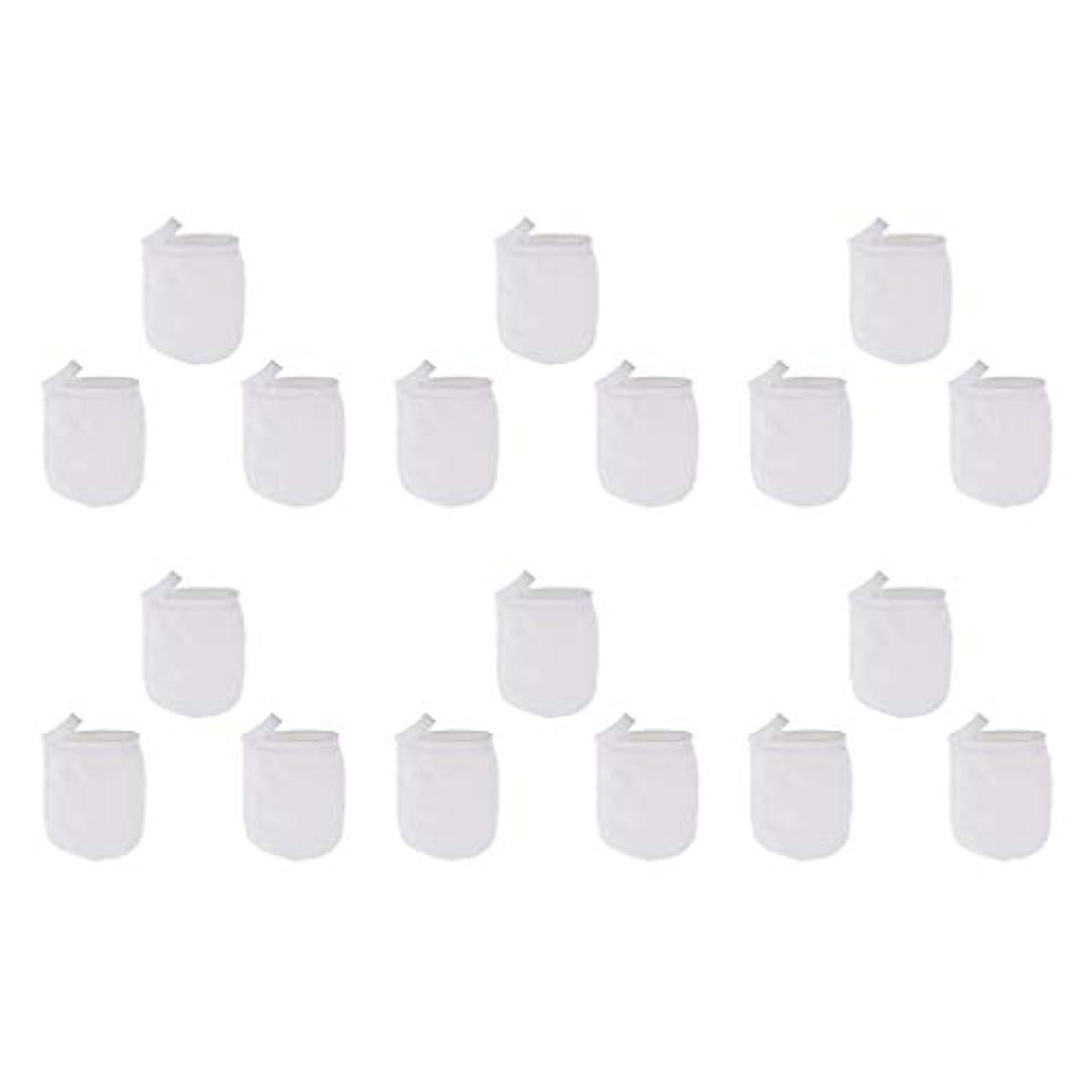 重くするクスクス作物洗顔手袋 フェイスクレンジング手袋 再利用可能な 柔らかい マイクロファイバー リムーバー 洗顔