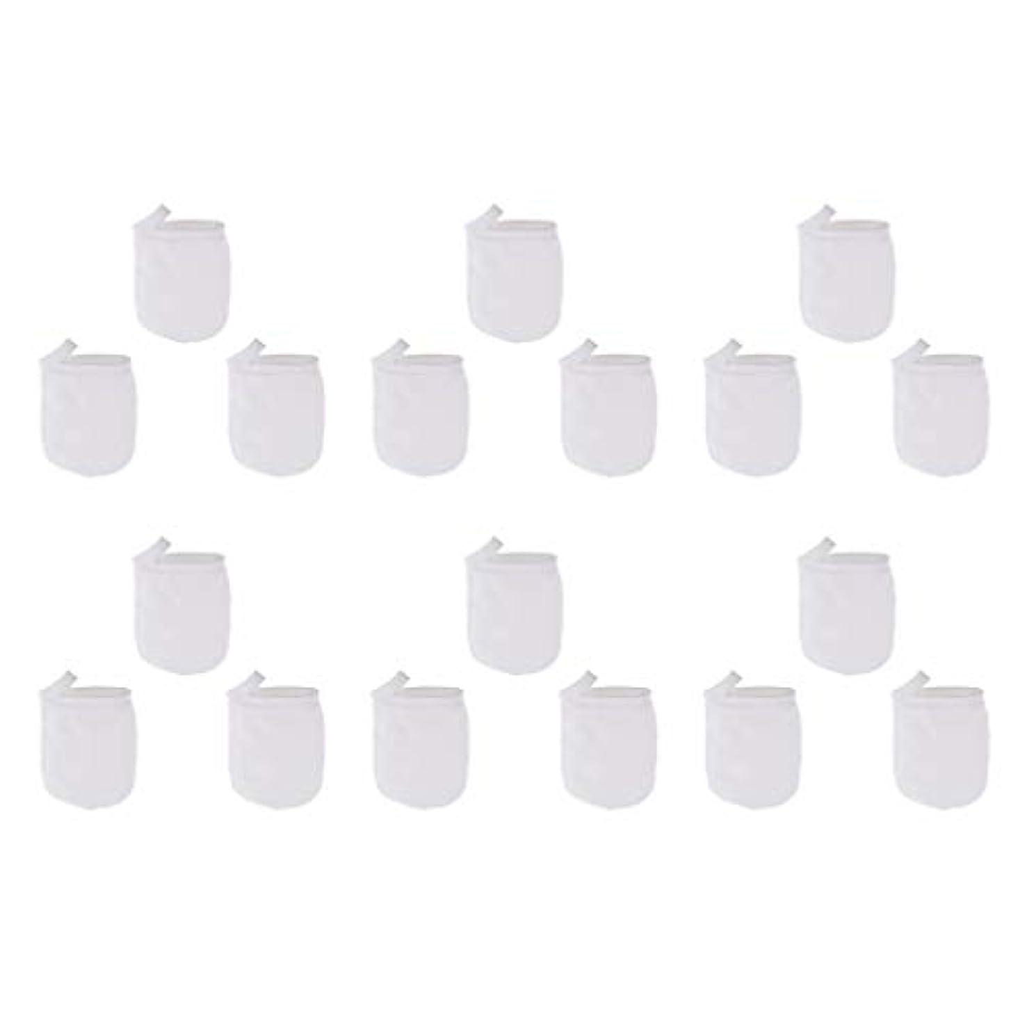 最高拍手測定可能洗顔手袋 フェイスクレンジング手袋 再利用可能な 柔らかい マイクロファイバー リムーバー 洗顔