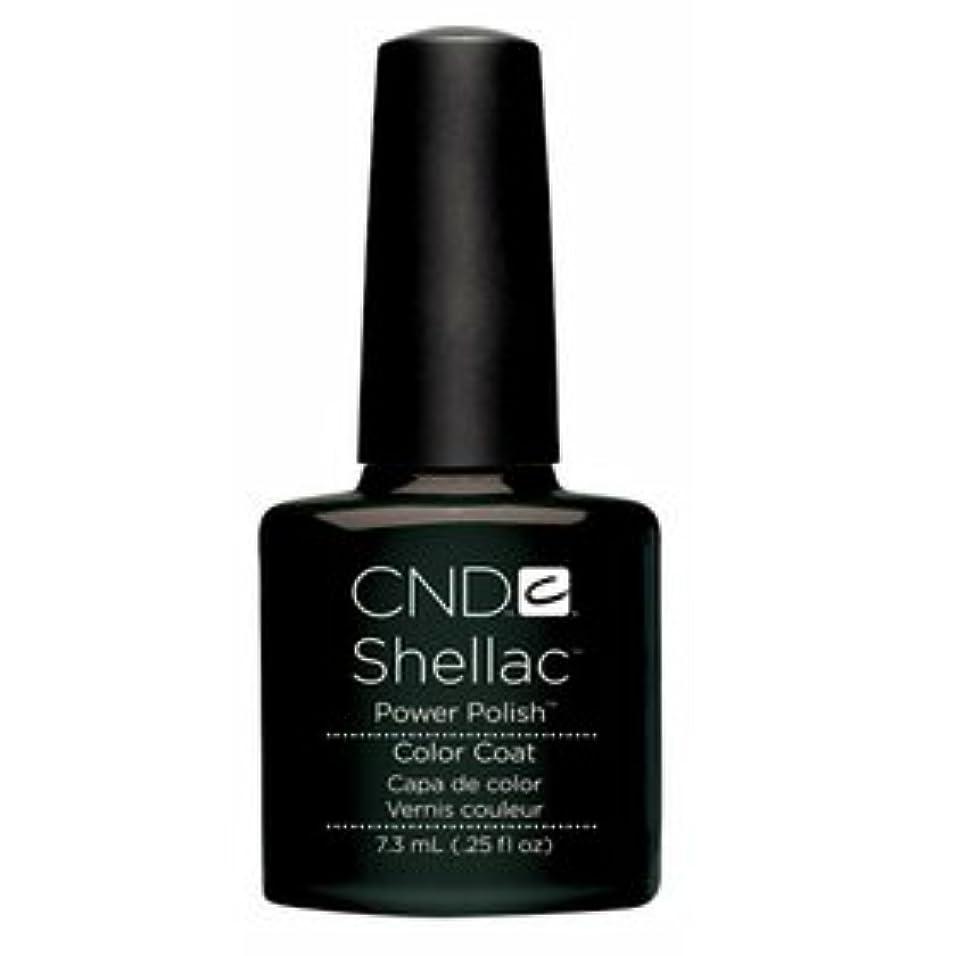 ★CND シェラック UVカラーコート 7.3ml<BR>518 ブラック