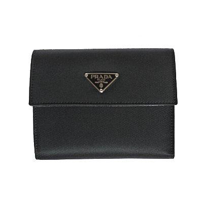 ナイロン財布 ブラック M170[並行輸入品] プラダ