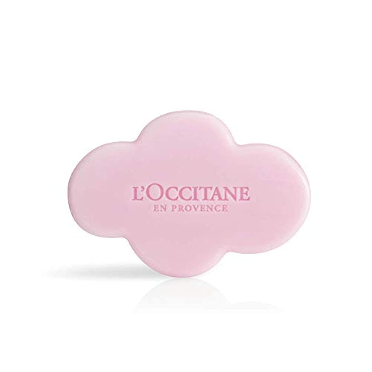 追い払う実験的上に築きますロクシタン(L'OCCITANE) フェスティブガーデン シア ソープ 150g 石鹸 スパークリングフローラル