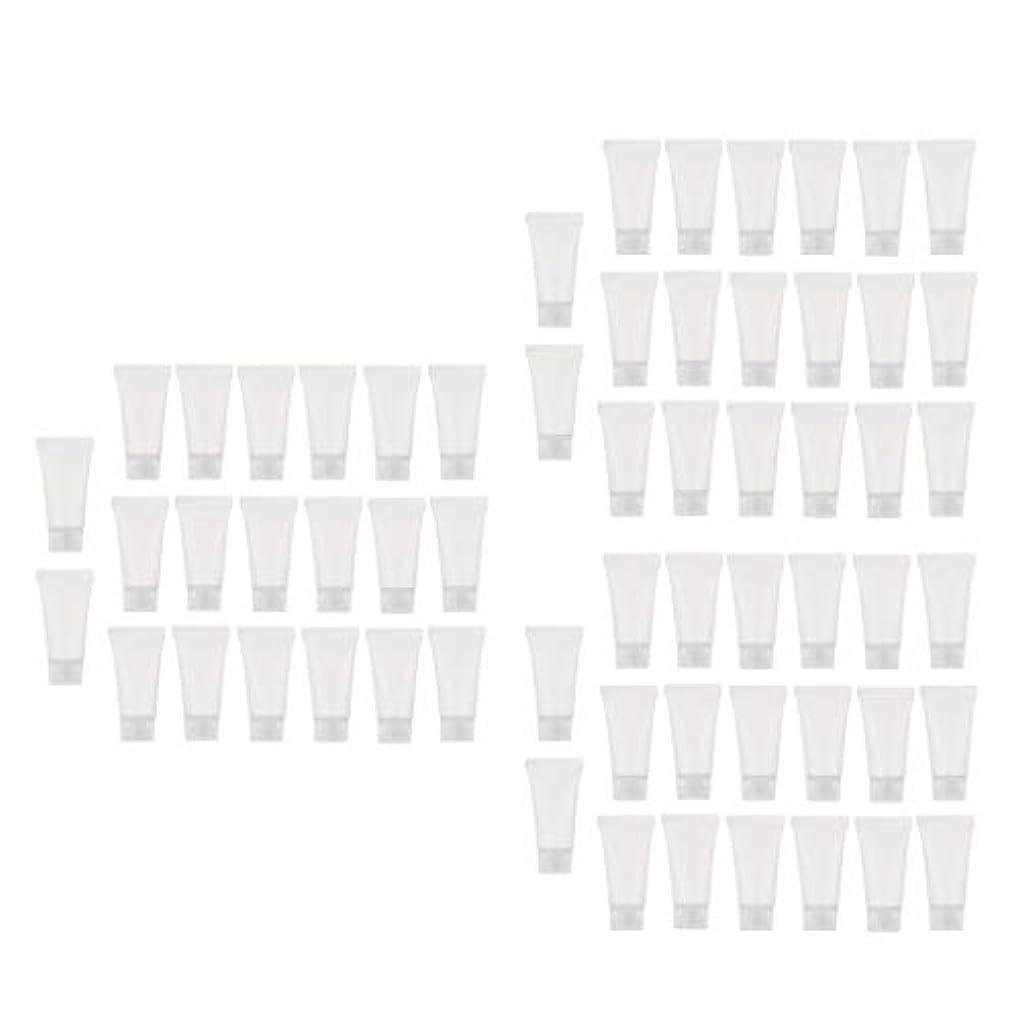 引用観点リハーサル5ML 空のボトル 化粧品チューブ 詰替え容器 ローションボトル クリームコンテナ 約60個セット