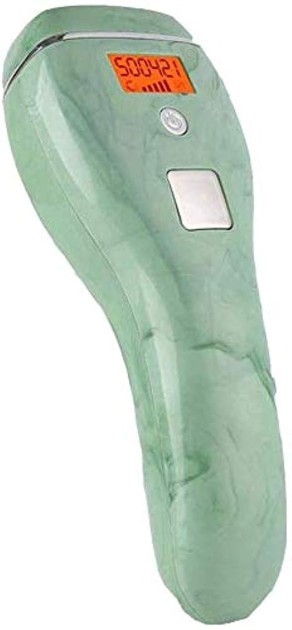 研究所島フォローHABAIS 女性のためのレーザー顔毛除去ナノセラミック、専門職 無痛 常設 点滅50万ホーム光子女性用脱毛システム,Green_19x4x6CM