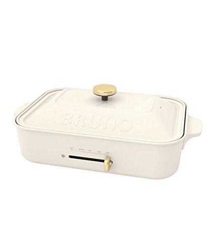 RoomClip商品情報 - BRUNO コンパクトホットプレート BOE018-WH ホワイト