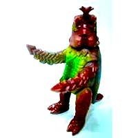 イワクラ 特撮大百科 ゴジラ ブルマァク伝説 昆虫怪獣メガロ レアカラー 単品