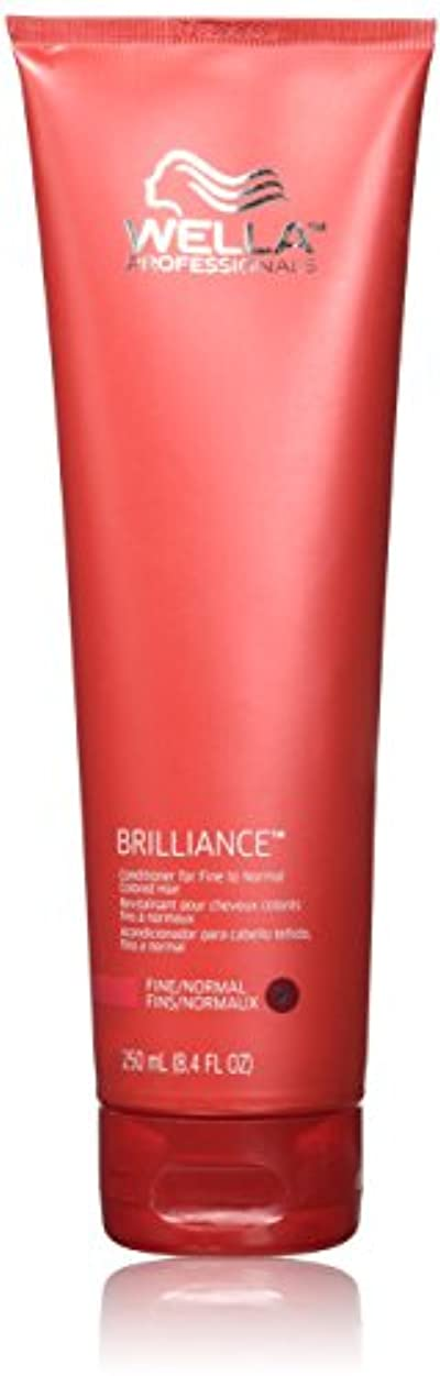 しないでください最初スチュワードWella Brilliance conditioner for Fine Hair, 8.4 oz by Wella