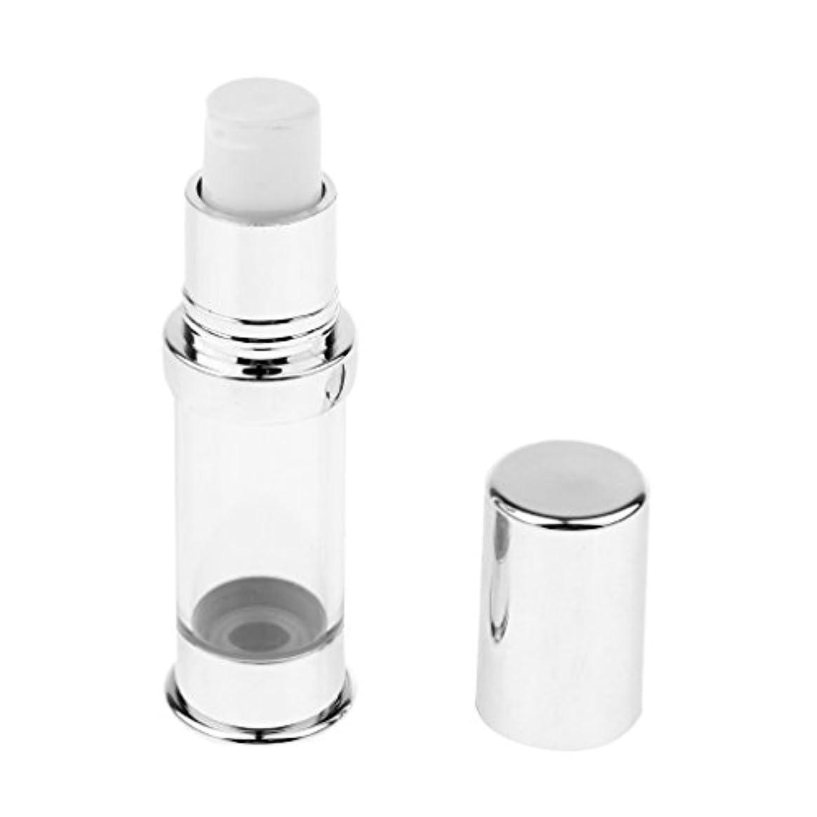 ボトルネックグローインタフェースポンプボトル エアレスボトル 5ミリリットル コスメ 化粧品 詰替え 小分け容器
