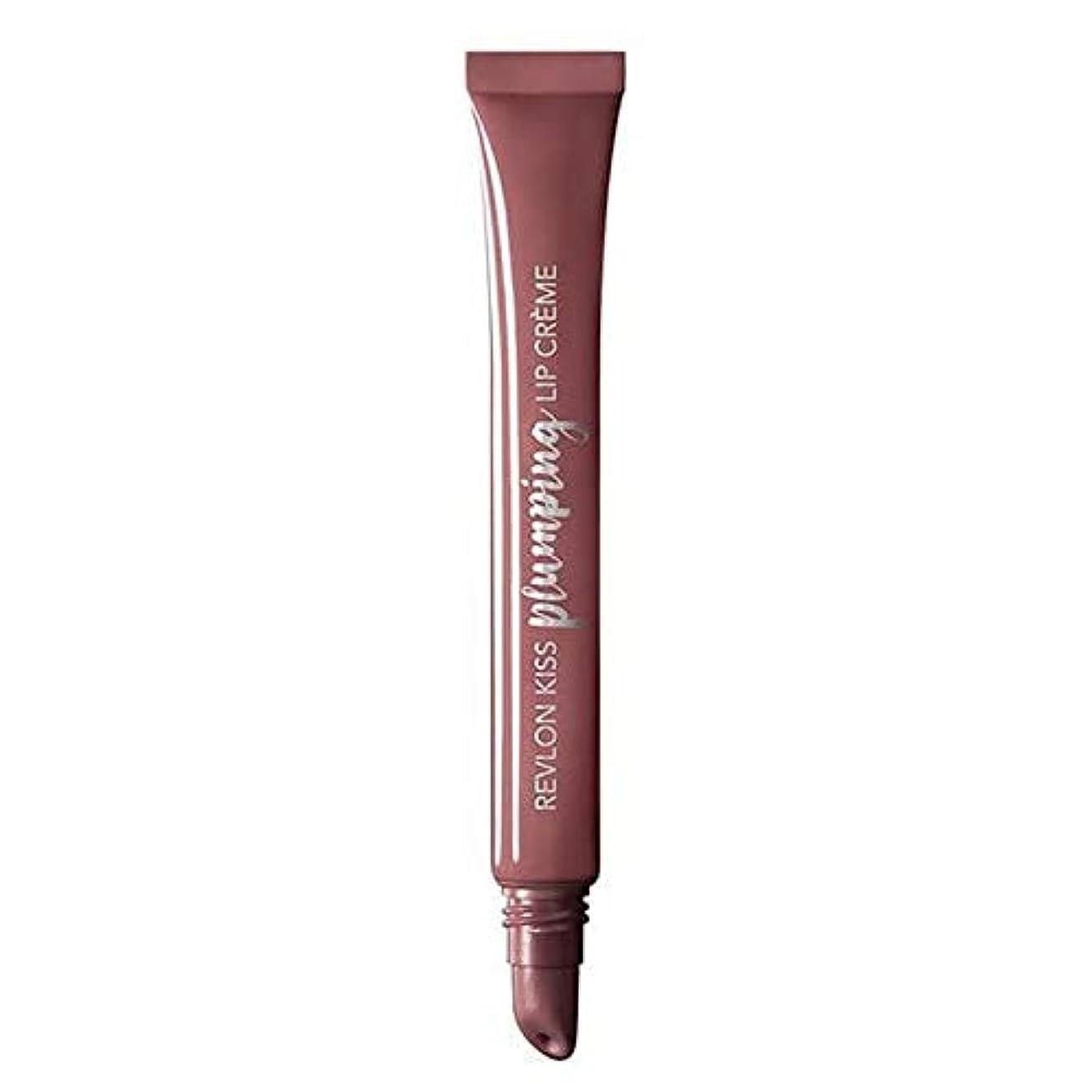 満足原油一人で[Revlon ] レブロンキス膨化リップクリームのベルベットのミンク - Revlon Kiss Plumping Lip Cr?me Velvet Mink [並行輸入品]