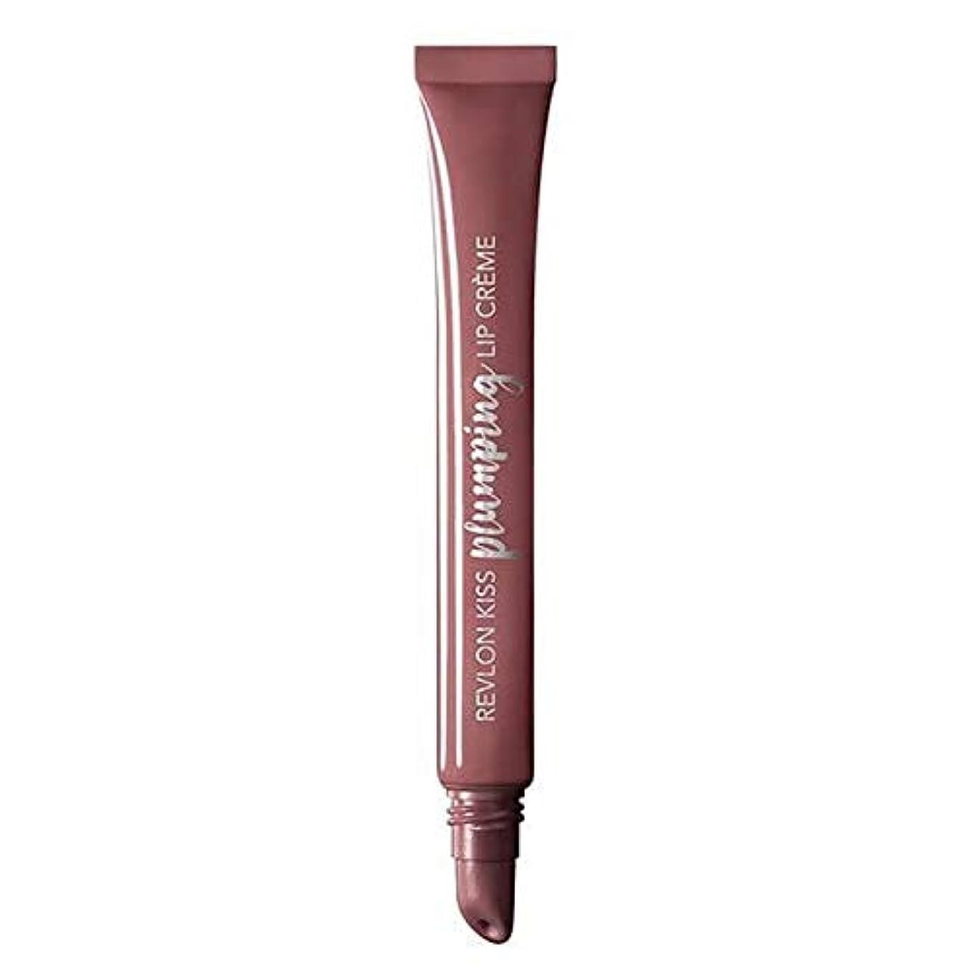 [Revlon ] レブロンキス膨化リップクリームのベルベットのミンク - Revlon Kiss Plumping Lip Cr?me Velvet Mink [並行輸入品]