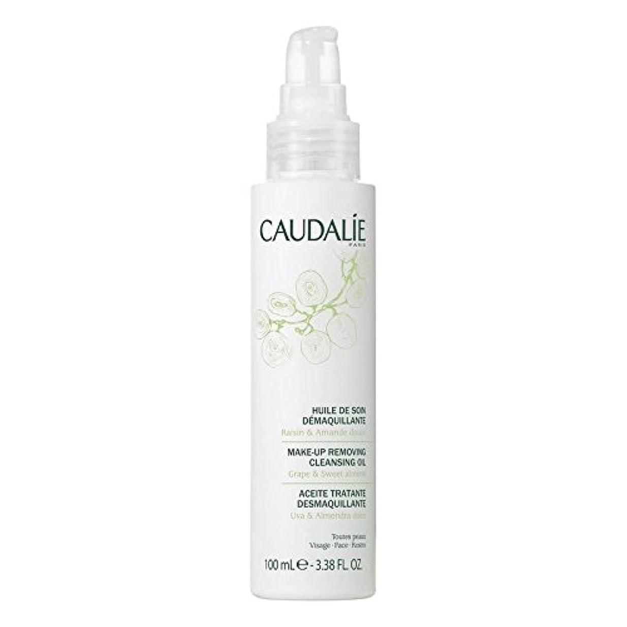 魂樹木ふざけたCaudalie Make-Up Removing Cleansing Oil 100ml (Pack of 6) - コーダリーは、メイクアップクレンジングオイル100ミリリットルを削除します x6 [並行輸入品]