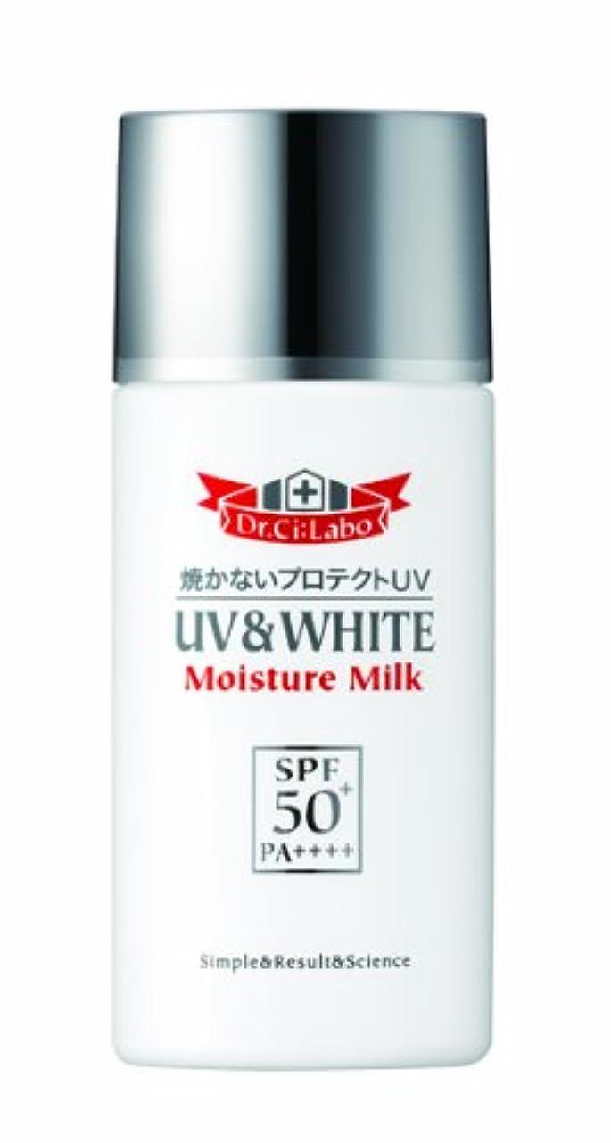 年齢島厳密にドクターシーラボ UV&WHITEモイスチャーミルク50+ 60ml