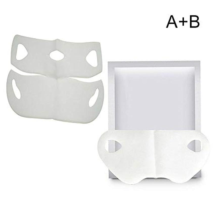 可動式突破口特定のTenflyer  保湿フェイスファーミングマスクをホワイトニングするV字型スリミングフェイスマスク