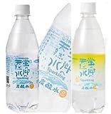 炭酸水 国産 蛍の郷天然水スパークリング500ml48本 プレーン&レモン各24本