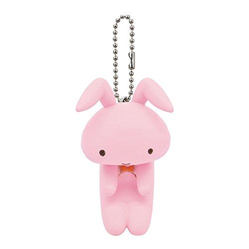 クレヨンしんちゃん ぶらぶらスイング2 ガシャポン 5.ネネちゃんのうさぎ(ピンク) 単品