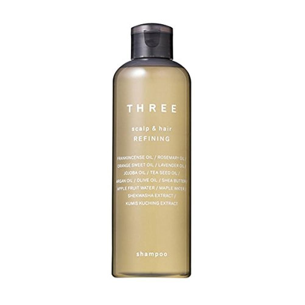 香ばしい委任する体細胞THREE(スリー) スキャルプ&ヘア リファイニング シャンプー 250ml