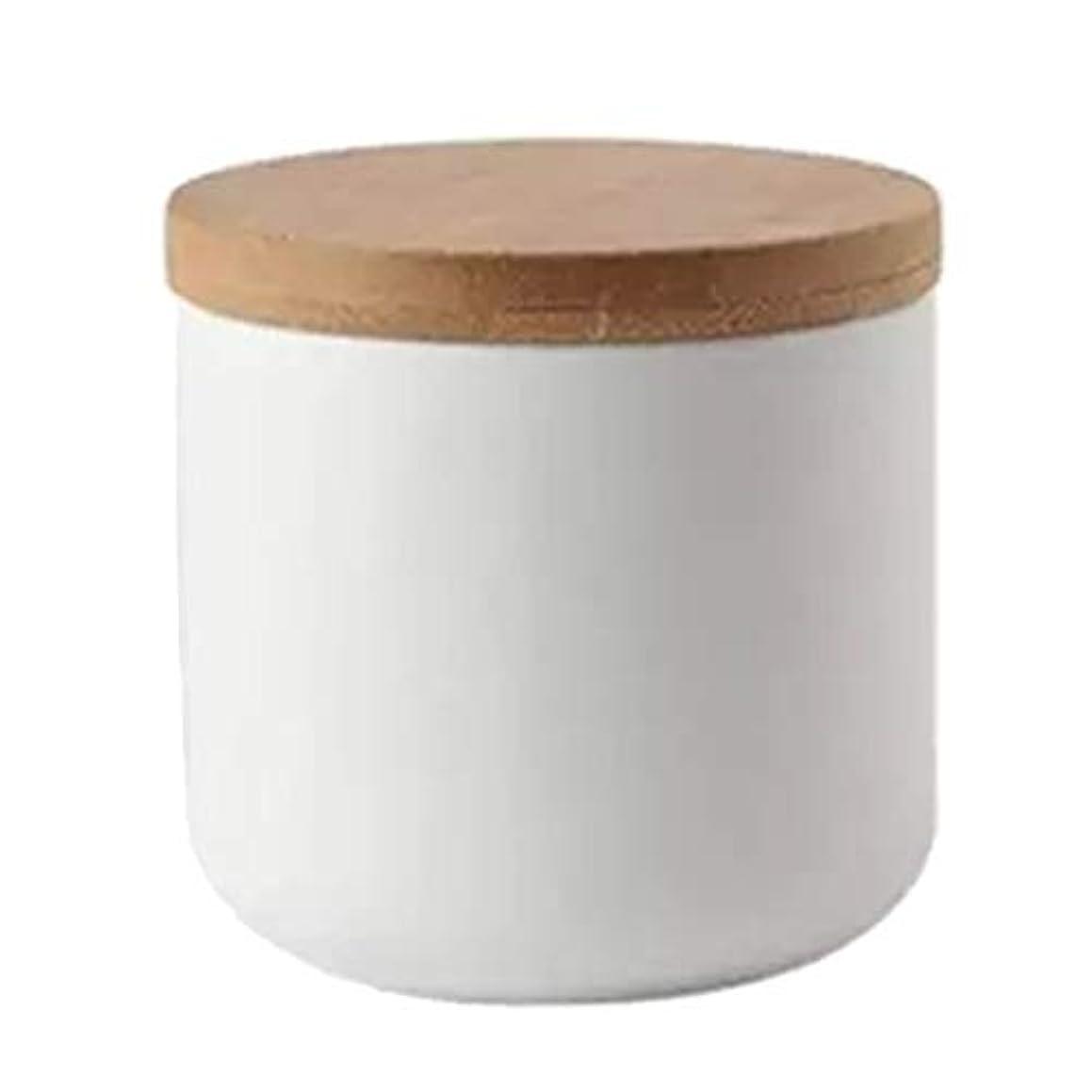 ヶ月目ラダ病的Perfeclan 化粧品ポット 収納 ボウル ネイルアートリムーバー アルコール ネイルリキッド パウダー コンテナ 全2色 - 白い
