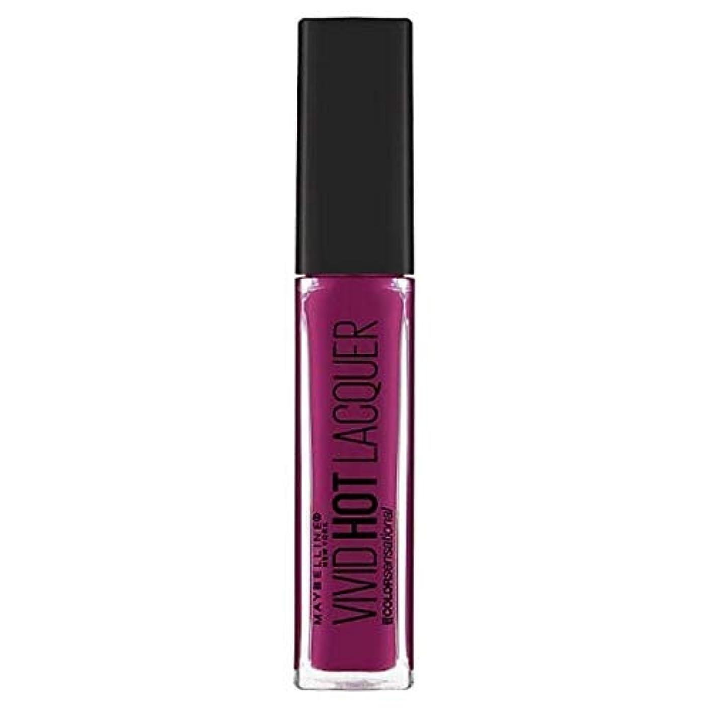 [Maybelline ] メイベリンの色鮮やかなセンセーショナルなホットラッカー強迫観念 - Maybelline Color Sensational Vivid Hot Lacquer Obsession [並行輸入品]