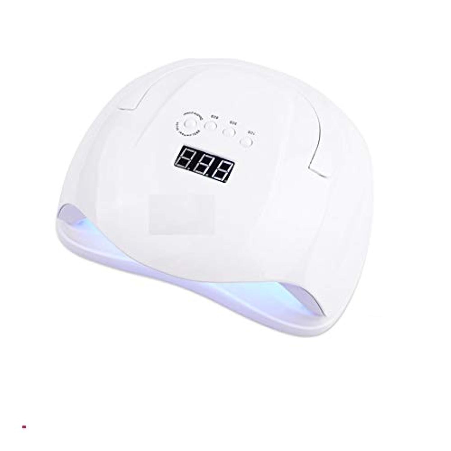 通知する場合気づくLittleCat 54WランプLEDセンサーライト光線療法ネイルマシンを乾燥させるためにポーランドのツールグルーネイル (色 : European standard circular plug)