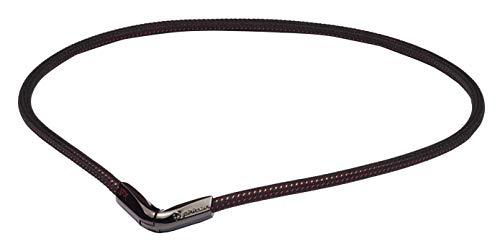 ファイテン(phiten) ネックレス RAKUWAネック EXTREME Vタイプ ブラック/レッド 50cm