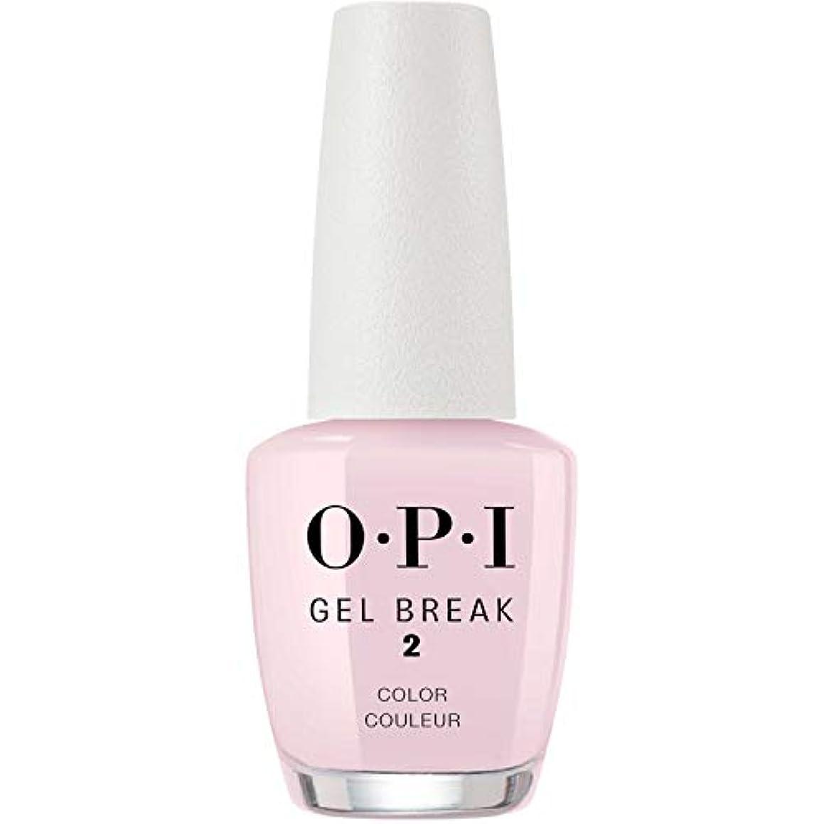 ドット不安定自宅でOPI(オーピーアイ) ジェルブレイク NTR03 プロパリー ピンク