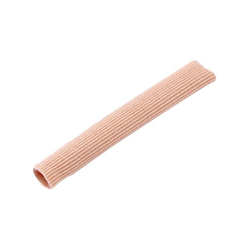 配管チョークメディックファブリックジェルチューブ包帯指&つま先保護足の足の痛みを軽減15CMフィートガード用足の保護用インソール(ピンク)