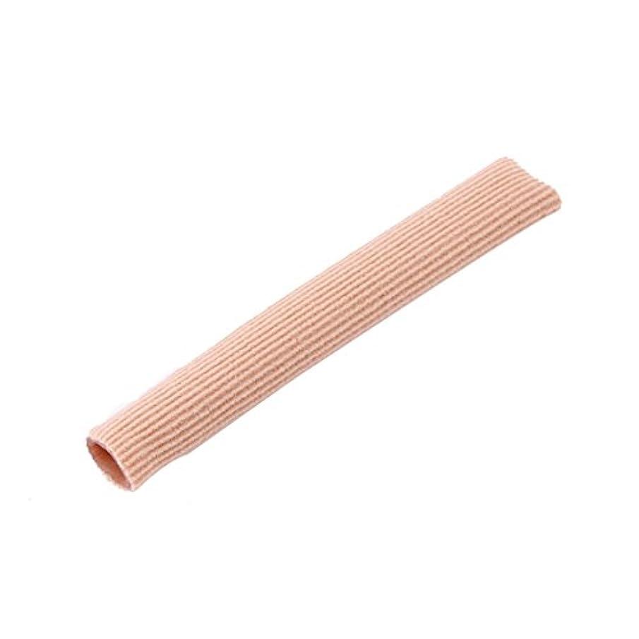 モーテルスナッチ広告主ファブリックジェルチューブ包帯指&つま先保護足の足の痛みを軽減15CMフィートガード用足の保護用インソール(ピンク)