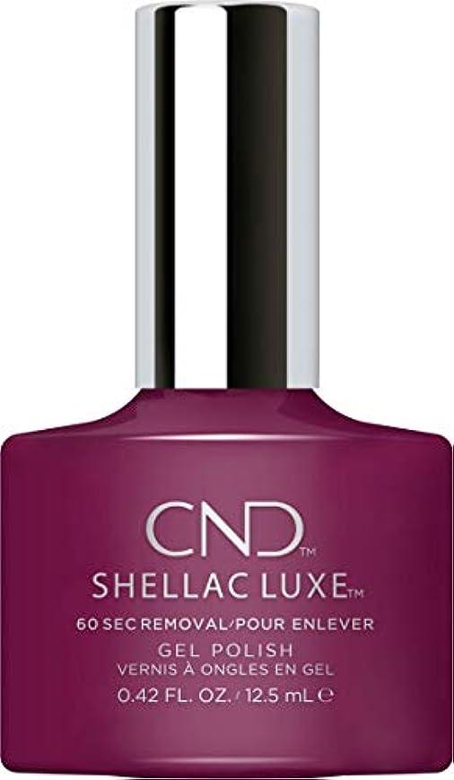 揺れる補充拾うCND Shellac Luxe - Vivant - 12.5 ml / 0.42 oz