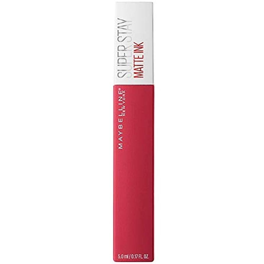 させる発表する法令[Maybelline ] メイベリンSuperstayマットインク液口紅80定規5ミリリットル - Maybelline Superstay Matte Ink Liquid Lipstick 80 Ruler 5ml...