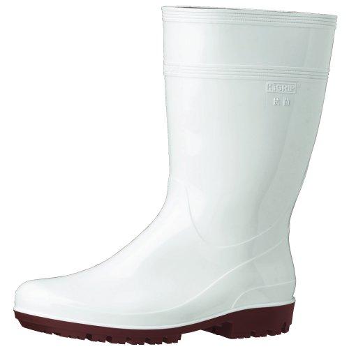 ミドリ安全 ハイグリップ長靴 29cm ホワイト HG200...
