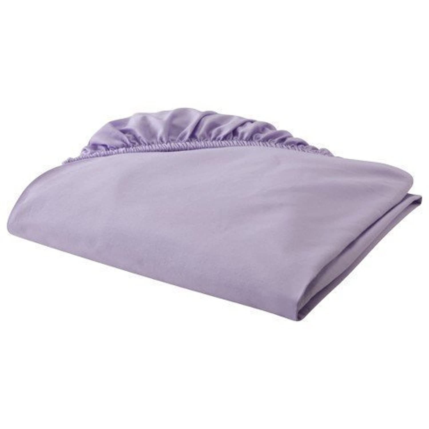 Circo Woven Fitted Crib Sheet - Lavender by Circo