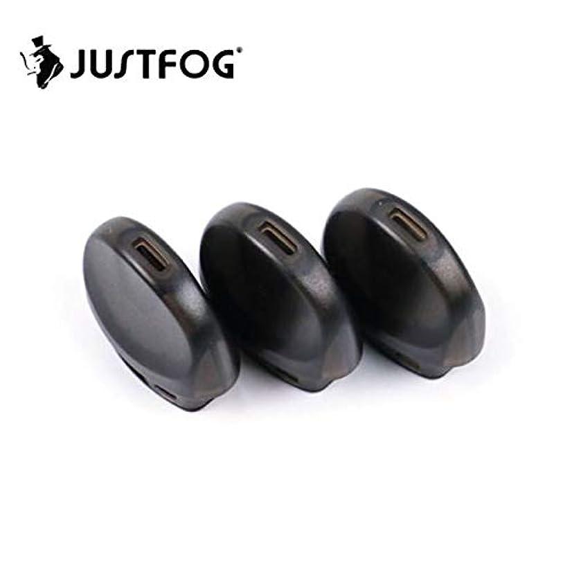 全部スクリーチ太字Justfog C601 Pod 3pcs ジャストフォグ C601 交換用Pod
