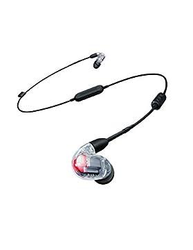 SHURE ワイヤレスイヤホン BT1シリーズ SE846 Bluetooth カナル型 高遮音性イヤホン ワイヤレスケーブル/リモコン・マイク付きケーブル付属 クリスタルクリアー SE846-CL+BT1-A 【国内正規品】