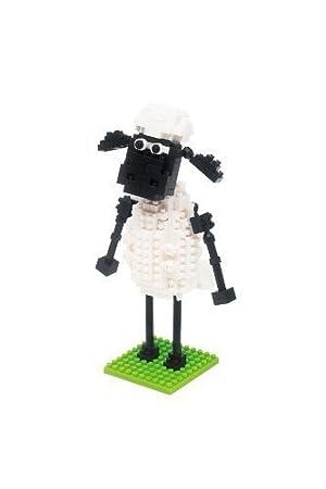 Sean Sean Nbh_067 of the Sean Sheep of the Nanoblock Sheep by KAWADA [並行輸入品]