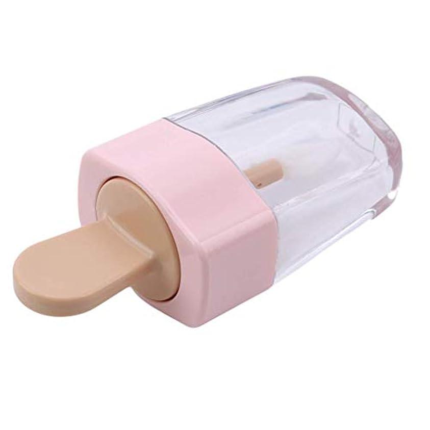 精神的に仮定、想定。推測熱望する1st market 空のリップグロスチューブ容器クリームジャーdiyメイクアップツール透明リップクリーム詰め替えボトル、ピンク高品質