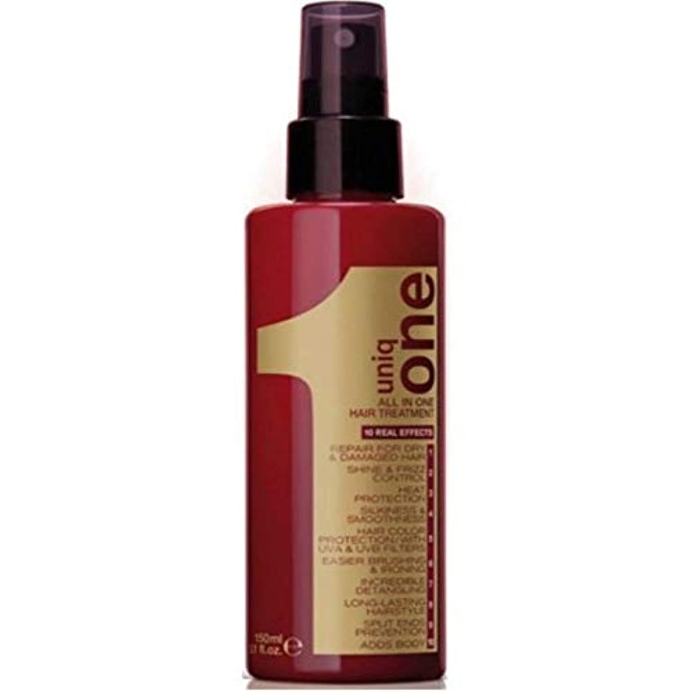 驚いた雪だるま時計回りUniq One Revlon All In One Hair Treatment 5.1Oz. - New Original by Uniq One by Uniq One