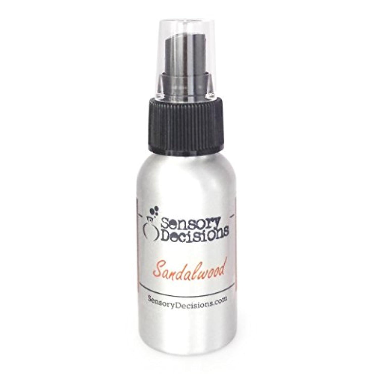 誓うデンプシー爬虫類サンダルウッドルームスプレー – サンダルウッドRoom Fragrance – Realサンダルウッド香り 1瓶 シルバー