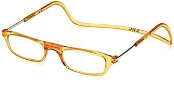(クリックリーダー)Clic Readers 老眼鏡 オレンジ +1.00 老眼