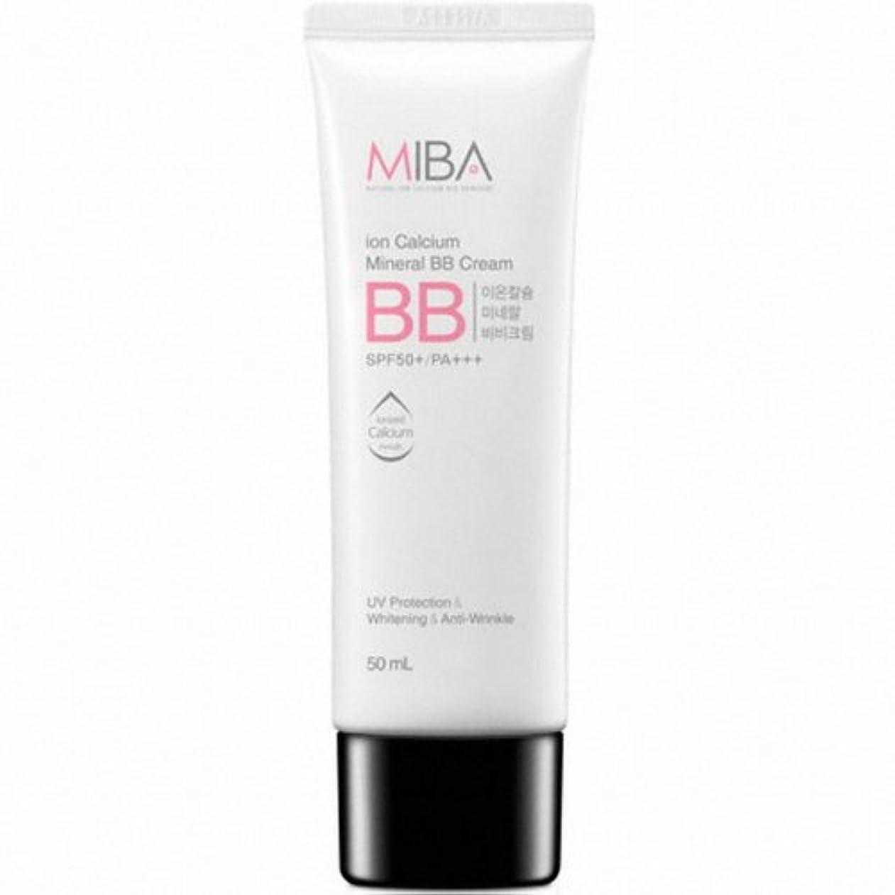 公演代表有限MINERALBIO (ミネラルバイオ) ミバ イオン カルシウム ミネラル ビビクリーム / MIBA Ion Calcium Mineral BB Cream (50ml) [並行輸入品]