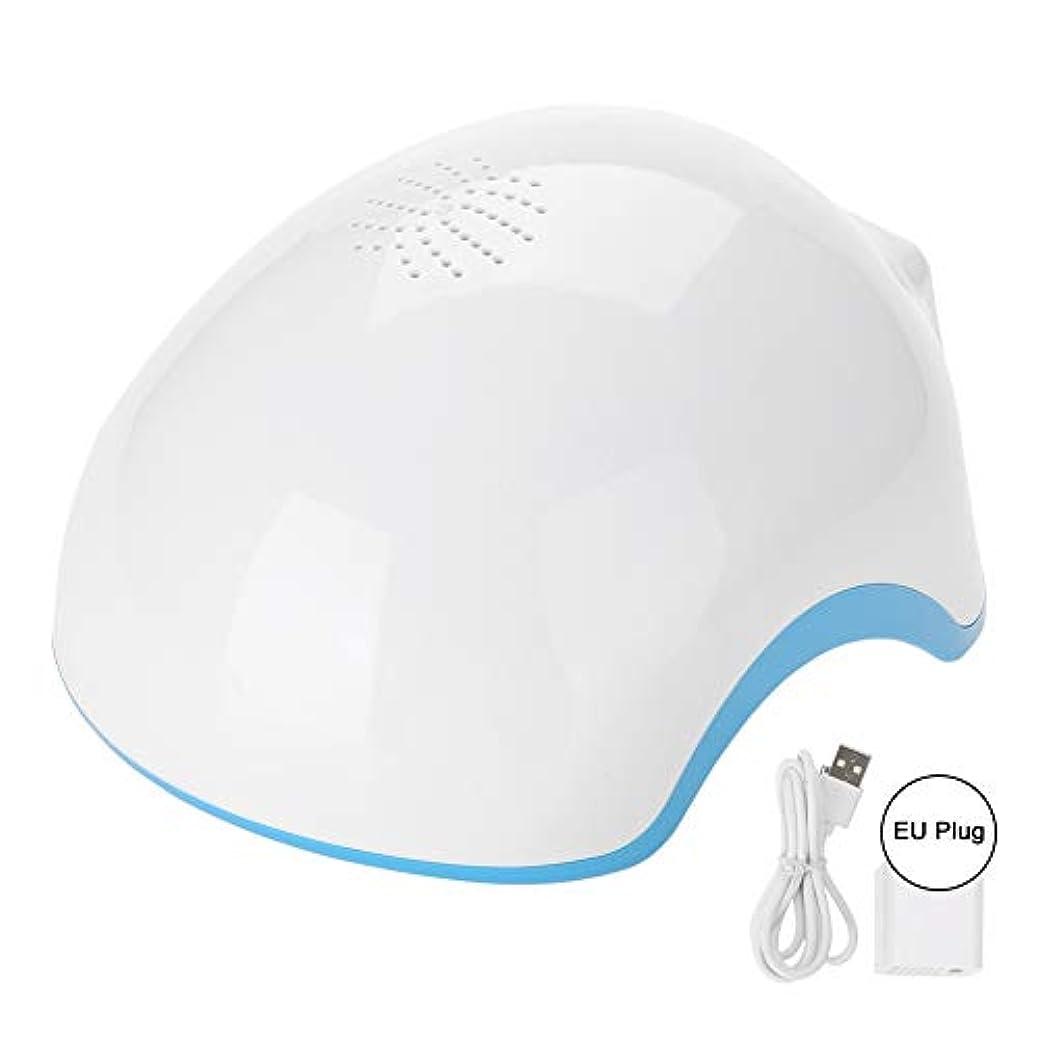 考える優先雑草髪の成長ヘルメット、髪の再生ヘルメットヘアトリートメントセラピーヘルメットオイルコントロール逆間引き再成長Denser(US Plug)