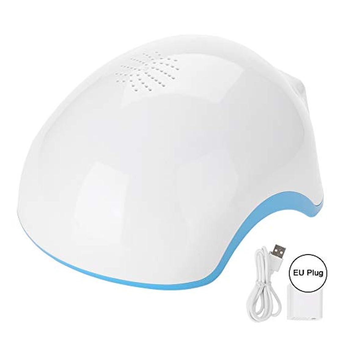 バドミントン本物遷移髪の成長ヘルメット、髪の再生ヘルメットヘアトリートメントセラピーヘルメットオイルコントロール逆間引き再成長Denser(US Plug)