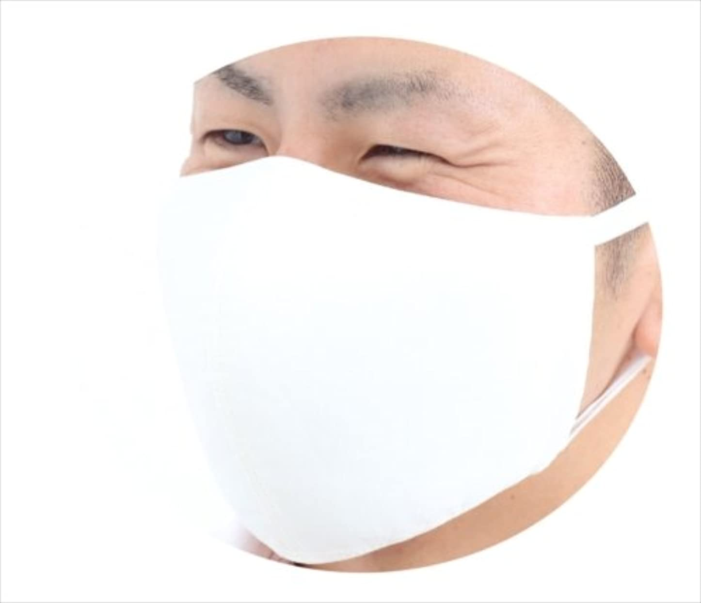 非アクティブカフェテリア絶えずツーヨン?メンズマスクビック布製2枚入りホワイト抗ウイルス?花粉対策フィルター6枚付き繰り返し使えぬれマスクにもなる